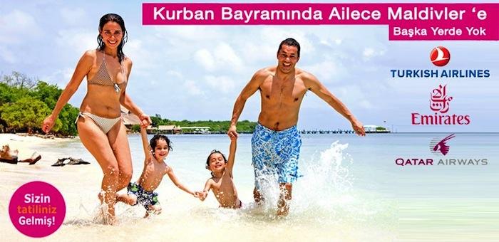 Kurban Bayramı Maldivler Turu