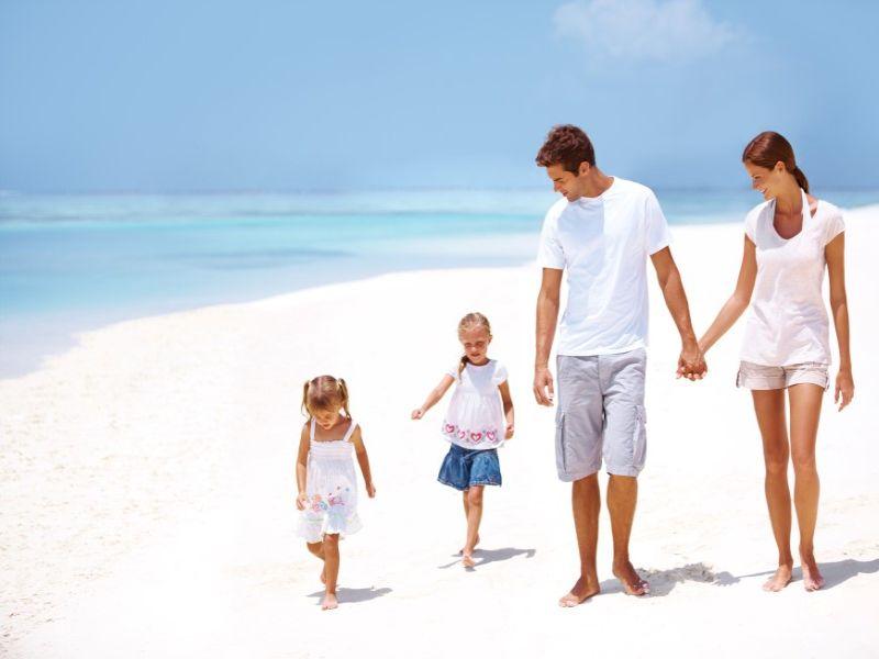 Maldivler 'de Aile Tatili